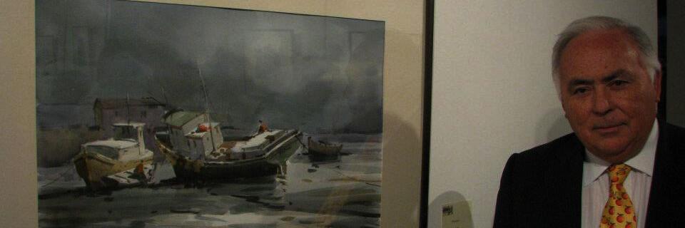 Acuarelas de Víctor Hugo Arévalo se exhibirán en la Corporación Cultural de Viña del Mar