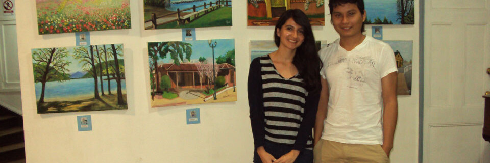 Alumnos ecuatorianos realizaron pasantía en la Facultad de Arte