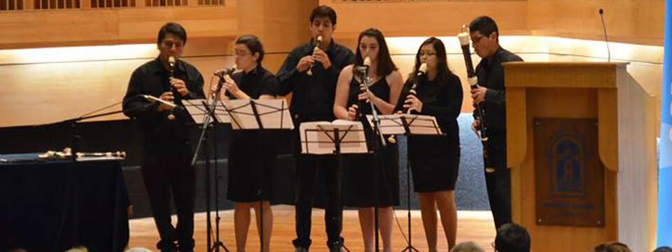 Agrupación UPLA participará en encuentro de consort de flautas en Santiago