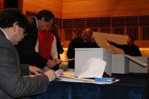 Proceso de votación elección rector UPLA