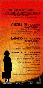 Afiche III Festival Humberto Duvauchelle