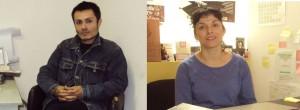 Académicos Andrés Hernández y Jenny Pino