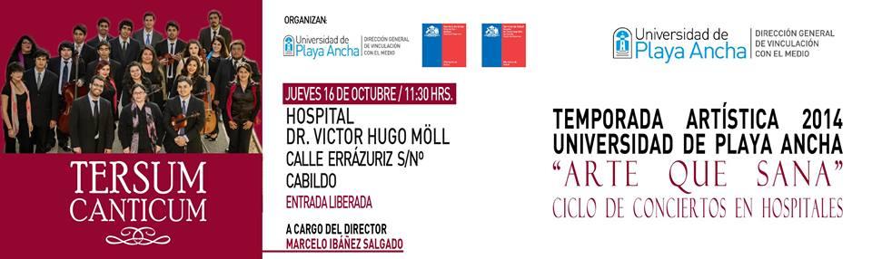 Tersum Canticum se presentará por primera vez en Hospital de Cabildo