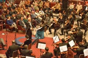 """El director nacional dirigió la pieza celebre """"Réquiem"""" de Wolfgang Amdeus Mozart"""