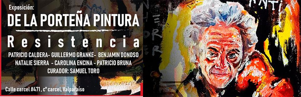 """Artistas UPLA integran primera muestra del ciclo expositivo """"De la porteña pintura"""""""