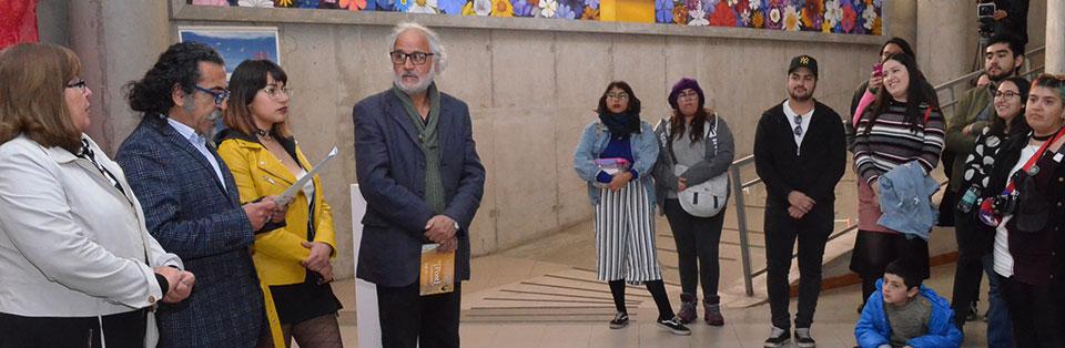 """Con llamado a crear orgánica de artistas se inauguró exposición """"[Post] Generación"""" en la UPLA"""